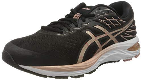 ASICS 1011A881-001_48, Chaussures de Course Homme, Noir Or Rose