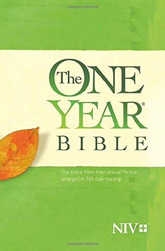 The One Year Bible NIV (Softcover)
