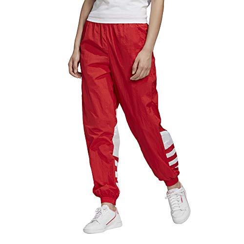 adidas LRG Logo TP Pantaloni Sportivi, Donna, Lush Red/White, 36