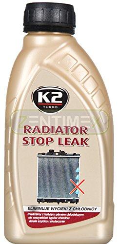 K2 Tapa fugas radiador y circuito de refrigeración sellador de radiadores 400mL