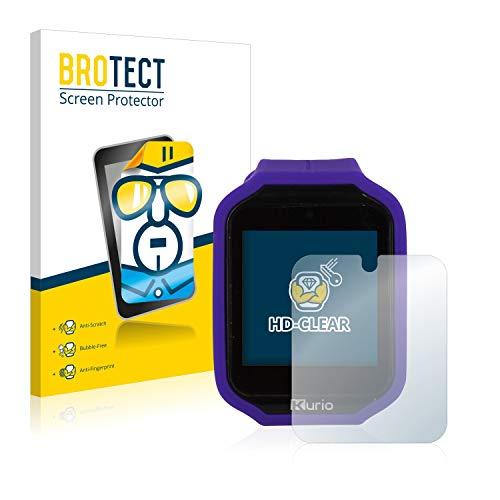 BROTECT Schutzfolie kompatibel mit Kurio Watch 2.0 (2 Stück) klare Displayschutz-Folie