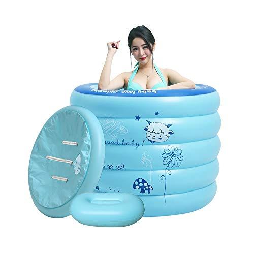 LF-Hammock Bañera Inflable Simple Bañera de Uso doméstico Bañera de engrase portátil...