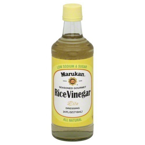 Marukan Dressing Vinegar Limited time sale Rice security Lite by 6 24-Ounce Pack Maruka