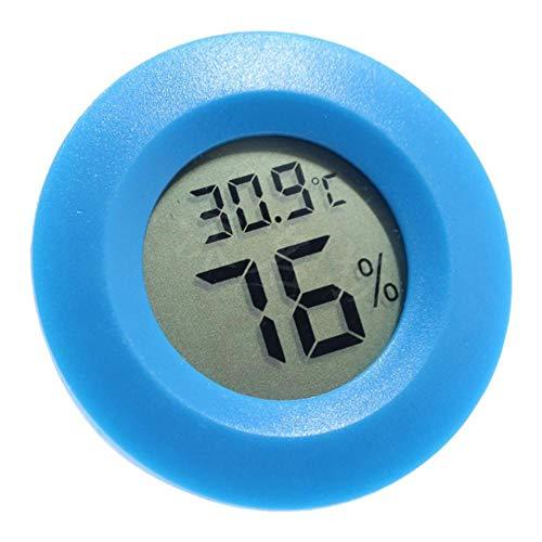 FLAMEER Igrometro Di Umidità Del Termometro Digitale Per I Vivari Del Serbatoio Dei Rettili - Blu