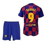 Conjunto Camiseta y pantalón 1ª equipación FC. Barcelona...