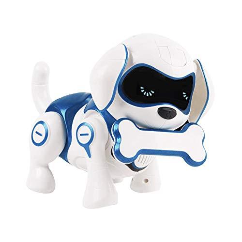 Lamptti Rc Electronic Smart Dog Jouet éducatif Pour Animaux De Compagnie Télécommandé Pour Chien Robot Intelligent Chantezdansez