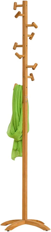 ZPWSNH Modern Creative Coat Rack Floor Solid Wood Hanger Simple Hanger Bedroom Clothes Hanging Fashion Hanger, Base Diameter 45cm X Height 175cm. Coat Rack