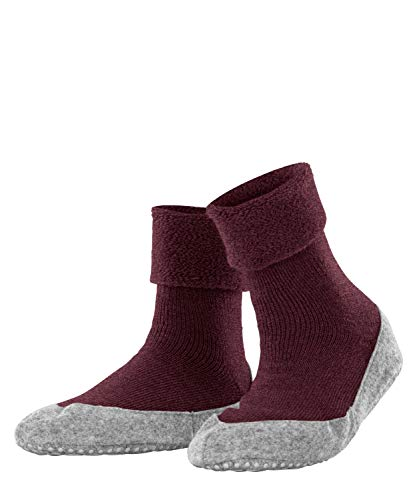 FALKE Damen Cosyshoe W HP Hausschuh-Socken, Rot (Wine Mel. 8624), 39-40 (UK 5.5-6.5 Ι US 8-9)