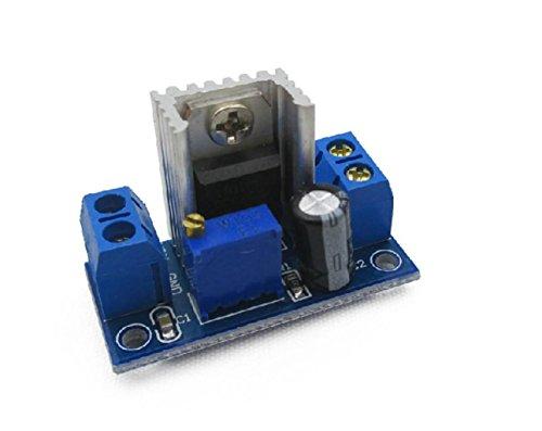 haoyishang LM317verstellbar DC Spannungsregler Step Down Netzteil Buck Konverter Modul 4.2Geschwindigkeit zu 1,2V-37V