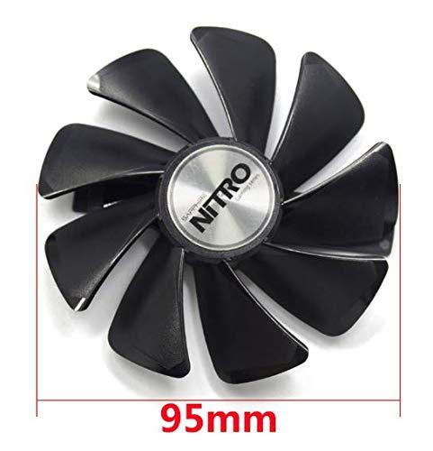 QHXCM voor 95MM CF1015H12D DC 12V Cooler Fan vervangen voor Sapphire NITRO RX 580 590 RX480 RX470 nitro grafische kaart Koeling Fans