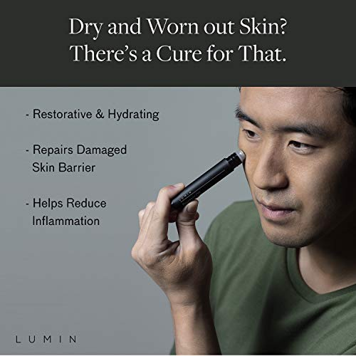 Men's After Hours Recovery Oil: Hydrate and Repair Dry/Damaged Skin - Use for Flights and Long Days - Anti-Aging Korean Made Grooming for the Modern Man - Achieve Your Best Look with Lumin
