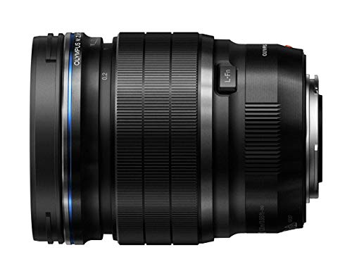 Olympus M.Zuiko Digital ED 17mm F1.2 PRO Objektiv (lichtstarke Festbrennweite, geeignet für alle MFT-Kameras,Olympus OM-D und PEN Modelle, Panasonic G-Serie) schwarz