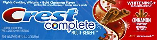Crest Crest Crest Complete Whitening Expressions Fluorid-Zahnpasta, Cinnamon Rush, 170 ml