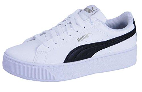 Puma Vikky Platform SL Donna, Pelle Liscia, Sneaker Alta, 38 EU