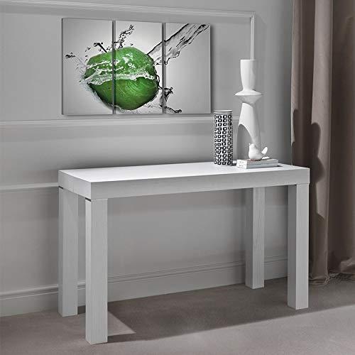 M-029 Konsolentisch, ausziehbar, 200 cm, Weiß