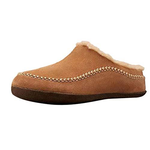 Aoogo Damen Winterschuhe rutschfeste Stiefel Winterstiefel Schneestiefel Warm Gefüttert Winter Kurz Stiefel Outdoor Boots Freizeit Schuhe