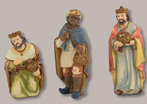 Heilige Drei Könige 3tlg, für 10cm Figuren