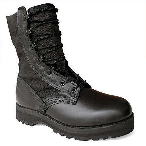 GTYW, Zapatos De Senderismo para Hombres, Botas De Combate Tácticas Tipo Jungla, Botas Militares Negras, Estados Unidos ALTAMA 4168 6800, 40-41.5,Black-40