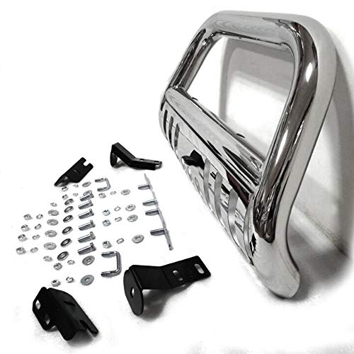 MOTORHOT Bull Bar Front Bumper Grill Guard Replacement for 2004-2008 Ford F150 Models & 2007-2014 Lincoln Navigator Front Bumper Grille Guard Brush Guard Off Road Accessories