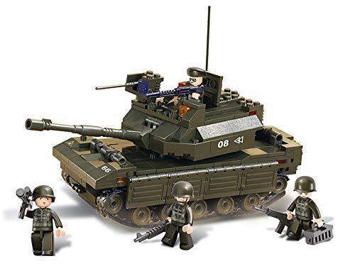 Sluban M38-B6500 Army Panzer Bausatz