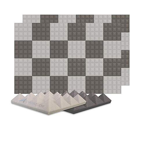 Arrowzoom 48 Panels absorción de sonido Pirámide...