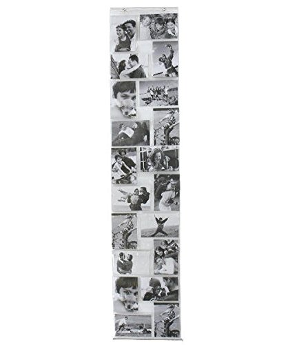 Fotohalter aus PVC für 20 Fotos