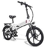 Coolautoparts Elektrofahrrad Ebike Mountainbike Klapprad 20 Zoll mit 48V 10,4Ah Lithium-Akku, 350 W...