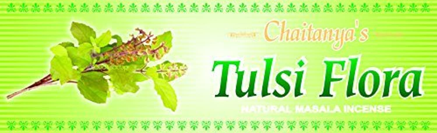 Tulsi Flora Incense - (100 Gram Pack)