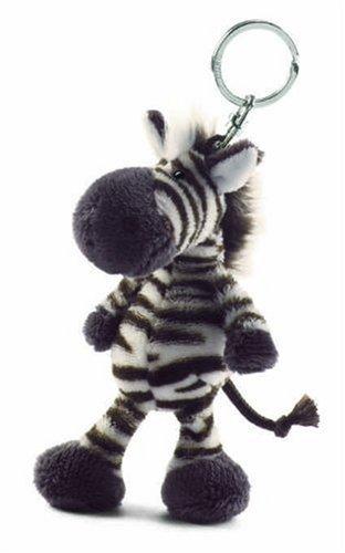 Nici 28600 - Zebra Bean Bag Schlüssel-Anhänger 10 cm