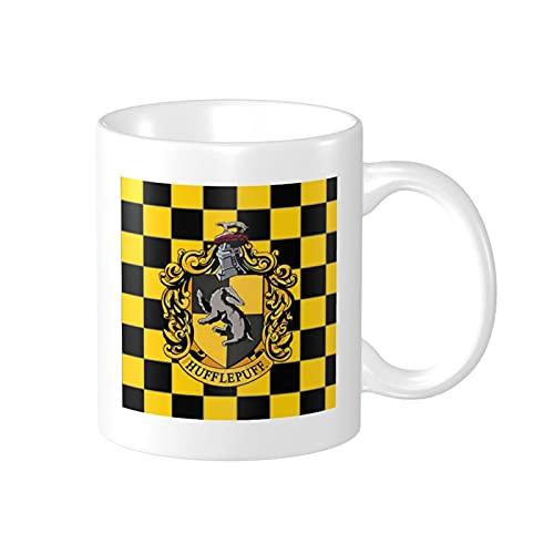 Taza de Harry Potter Hufflepuff: regalo divertido para miembros de la familia 30 cumpleaños