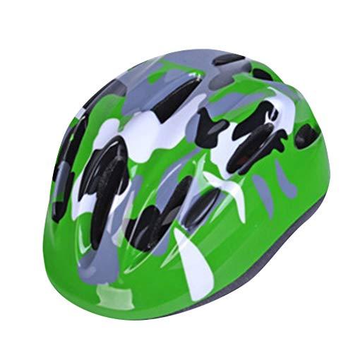 SHUANGA Kinder Unisex Fahrradhelm MTB Rennrad Mountainbike Sport SchutzhelmUnisex-Tarnfahrradhelm für Kinder Sportschutzhelm Erwachsene Fahrradhelm, Radhelm, Cityhelm
