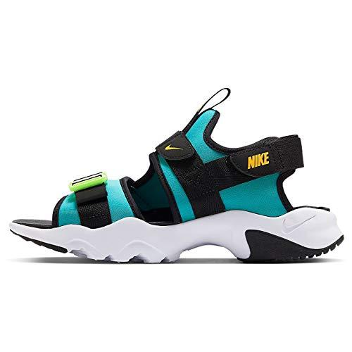 Nike Canyon Oracle Aqua/Laser - Sandal de trabajo, color naranja y negro, color Multicolor, talla 42.5 EU