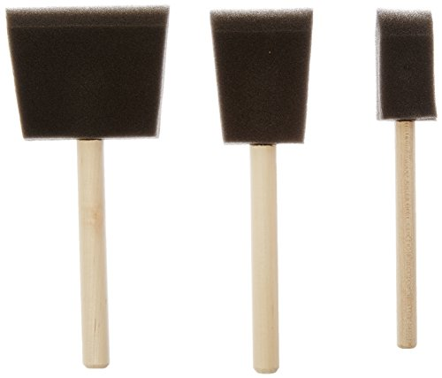 Jen Mfg 82826301233 Jen Poly Brush Contains 1-each of the 1-Inch, 2-Inch and 3-Inch Brush, 3-Pack