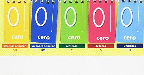 Numeración decimal fácil / Editorial GEU / Recomendado a partir de 10 años/ Recurso didáctico / Unidades a decenas de millar/ Tarjetas móviles