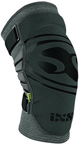 IXS Sports Division Carve EVO+ Knee Guard Knie- Und Schienbeinschoner, Grey, XL