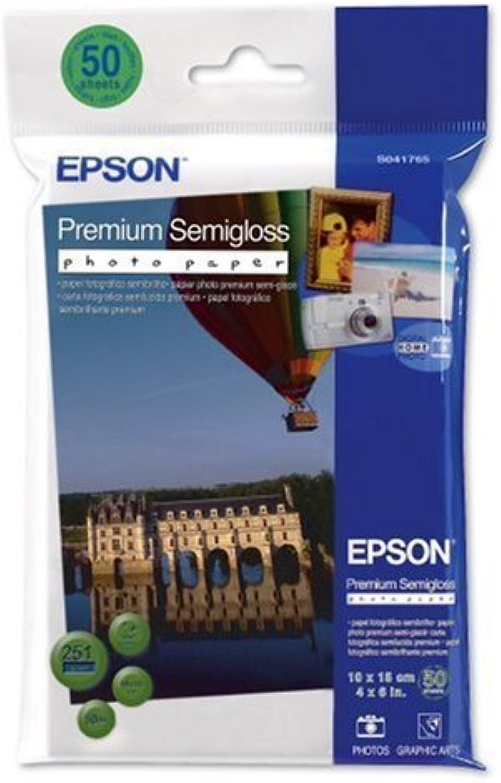 Epson Premium Semigloss Photo Paper, 100 x 150 mm, 251 251 251 g m², 50 Blatt – Fotopapier (100 x 150 mm, 251 g m², 50 Blatt, 163 x 115 x 15 mm, 218 g, 50 Blatt, 100 x 150 mm) B0038MIKY0 | Smart  7a90a0