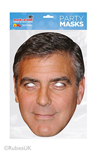 George Clooney Masque - Version Anglaise