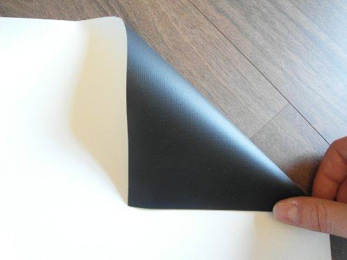 Leinwandtuch Meterware, Leinwandstoff 1,07m x 0,60m ; Leinwand für Beamer