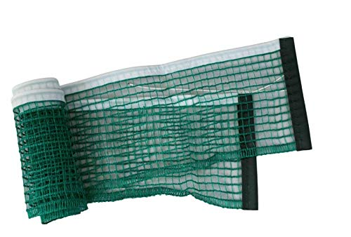 Hard to find Bike Parts Kettler Table Tennis Replacement Net For Indoor Outdoor Tables White/Green Mesh (Single)