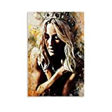 zhangyun Ellie Goulding Poster, dekoratives Gemälde,