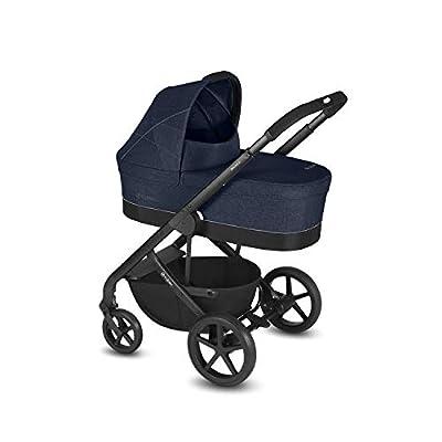 Cybex Balios S & Capazo S - Cochecito de bebé con bañera cot S, deporte y adaptador de asiento