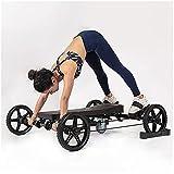 GJXJY Bicicleta de Ejercicio Multifuncional, Equipo Deportivo de Rebote Automático de Rana para el Abdomen, Sistema de Fitness Total para el Cuerpo