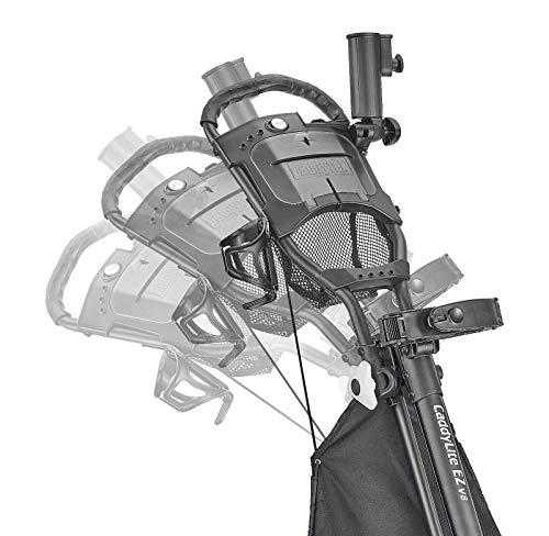 CaddyTek Quad Tour Swivel 360 4-Rad Golf Push Trolley - 3