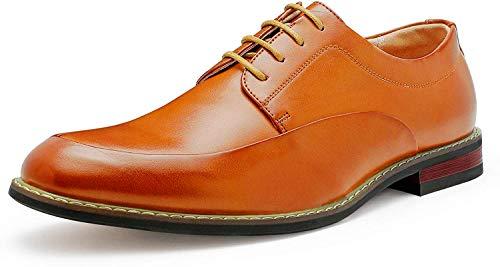 Bruno Marc Men's Dress Shoes Formal Oxfords Prime-1 Brown 10.5 M US