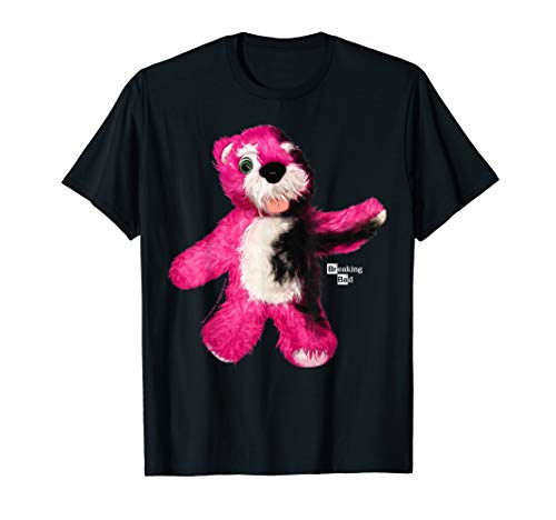 Breaking Bad Burnt Pink Teddy Bear Portrait Logo T-Shirt