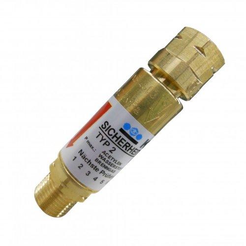 Explosionsschutz HARRIS/KAYSER Rückschlagsicherung für Acetylen oder Propan