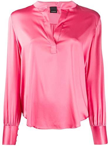 Luxury Fashion | Pinko Dames 1G14TVZR64N57 Fuchsia Zijde Blouses | Lente-zomer 20