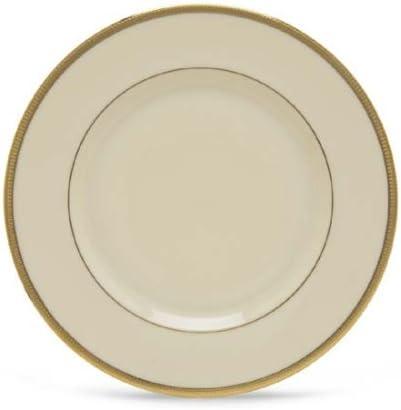 Lenox Tuxedo Salad ivory Plate gold Max Bombing free shipping 50% OFF