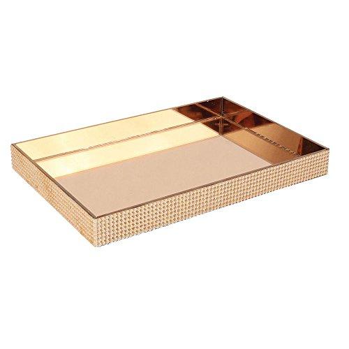 Bandeja Espelhada Bronze 3,3X20,5X30,5