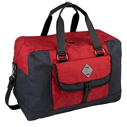 camel active, Reisetasche, Herren, Sporttasche, Reisetasche leicht, Kurzreisetasche, Weekend Bag, Satipo, Rot